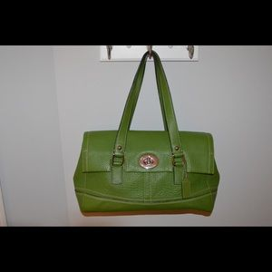 Coach- Green Purse/Handbag
